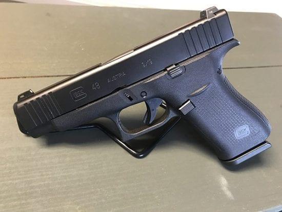 Glock 48 Black Night Sights Preowned