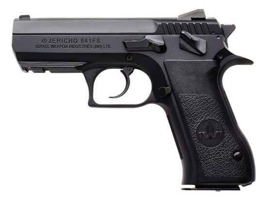 """IWI Jericho 9mm Steel 3.8"""""""
